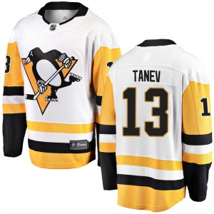 Brandon Tanev Pittsburgh Penguins Fanatics Branded Youth Breakaway Away Jersey (White)
