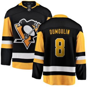 Brian Dumoulin Pittsburgh Penguins Fanatics Branded Breakaway Home Jersey (Black)