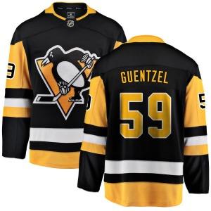 Jake Guentzel Pittsburgh Penguins Fanatics Branded Breakaway Home Jersey (Black)