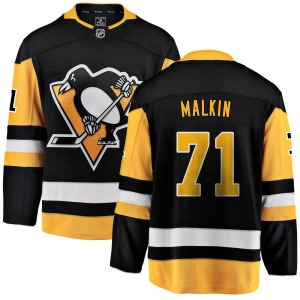 Evgeni Malkin Pittsburgh Penguins Fanatics Branded Breakaway Home Jersey (Black)