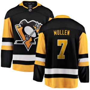 Joe Mullen Pittsburgh Penguins Fanatics Branded Breakaway Home Jersey (Black)