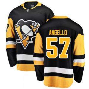 Anthony Angello Pittsburgh Penguins Fanatics Branded Breakaway Home Jersey (Black)