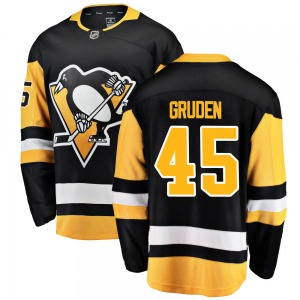 Jonathan Gruden Pittsburgh Penguins Fanatics Branded Breakaway Home Jersey (Black)