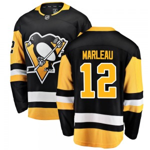 Patrick Marleau Pittsburgh Penguins Fanatics Branded Breakaway ized Home Jersey (Black)