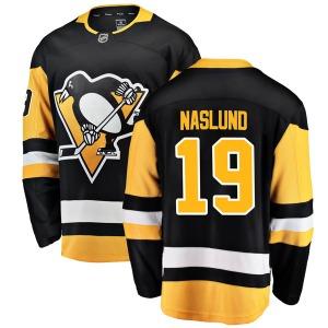 Markus Naslund Pittsburgh Penguins Fanatics Branded Breakaway Home Jersey (Black)