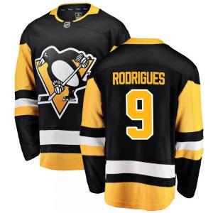 Evan Rodrigues Pittsburgh Penguins Fanatics Branded Breakaway ized Home Jersey (Black)