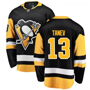 Brandon Tanev Pittsburgh Penguins Fanatics Branded Youth Breakaway Home Jersey (Black)