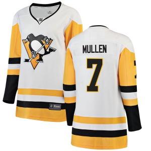 Joe Mullen Pittsburgh Penguins Fanatics Branded Women's Breakaway Away Jersey (White)