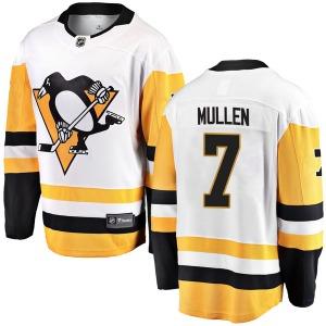 Joe Mullen Pittsburgh Penguins Fanatics Branded Breakaway Away Jersey (White)