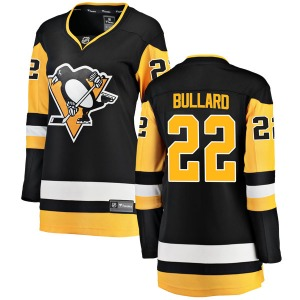 Mike Bullard Pittsburgh Penguins Fanatics Branded Women's Breakaway Home Jersey (Black)