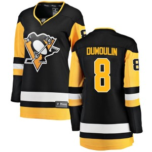 Brian Dumoulin Pittsburgh Penguins Fanatics Branded Women's Breakaway Home Jersey (Black)