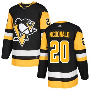 Ab Mcdonald Pittsburgh Penguins Adidas Authentic Home Jersey (Black)