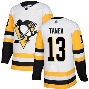 Brandon Tanev Pittsburgh Penguins Adidas Authentic Away Jersey (White)