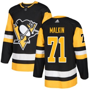 Evgeni Malkin Pittsburgh Penguins Adidas Authentic Jersey (Black)