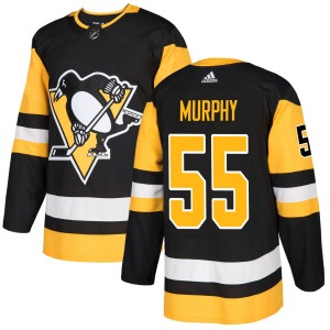 Larry Murphy Pittsburgh Penguins Adidas Authentic Jersey (Black)