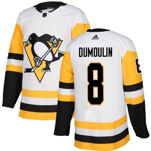 Brian Dumoulin Pittsburgh Penguins Adidas Authentic Jersey (White)