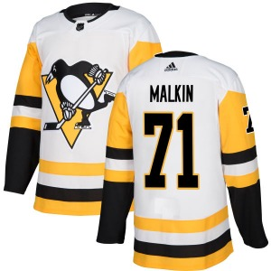 Evgeni Malkin Pittsburgh Penguins Adidas Authentic Jersey (White)