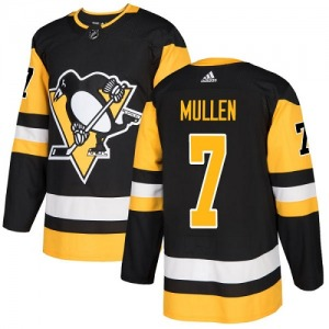 Joe Mullen Pittsburgh Penguins Adidas Youth Authentic Home Jersey (Black)